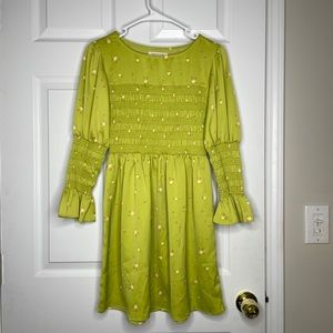 Urban Outfitters cottagecore green floral dress